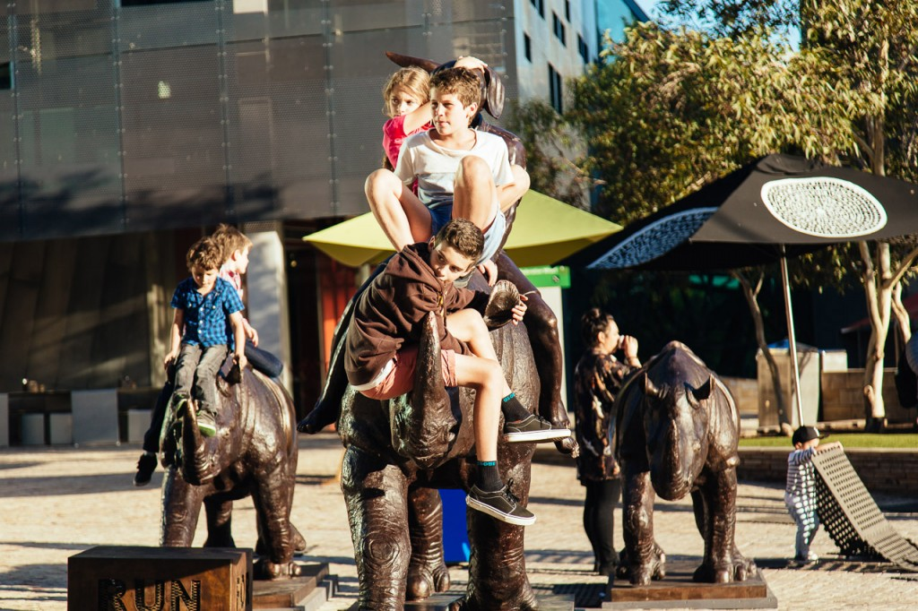 Run for your Life at Fed Square early in 2014