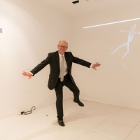 Eddie Kutner enjoying Electric Puppet by Georgie Pinn