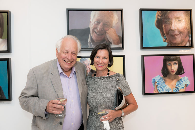 Sir Gus Nossal AC and Cathy Walter AM