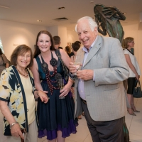 Sonia Kempler, Alicia Mulcahy and Sir Gus Nossal AC